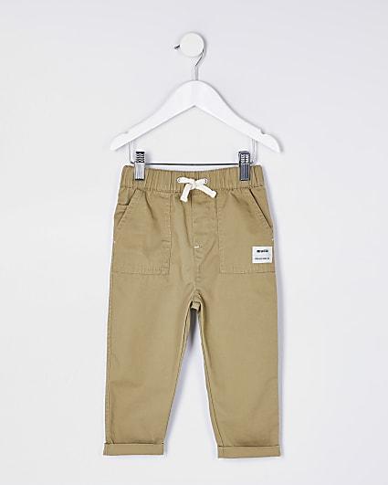 Mini boys stone RI cargo trousers