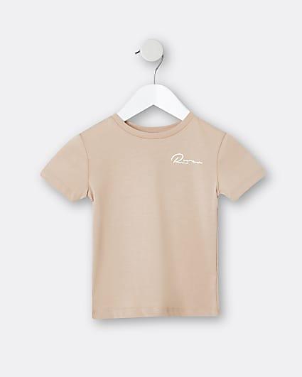Mini boys stone t-shirt
