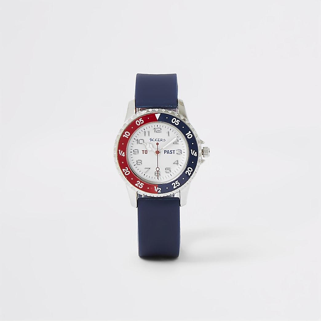 Mini - Tikkers - Marineblauw horloge voor jongens
