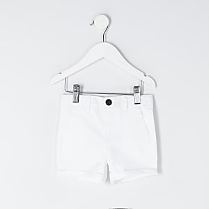 Witte chino short voor mini boys