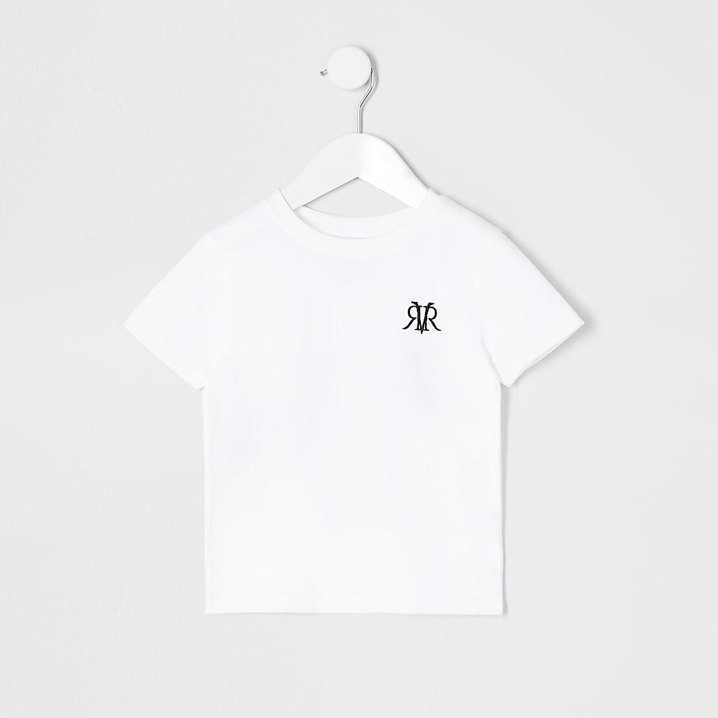 Mini boys white RI T-shirt