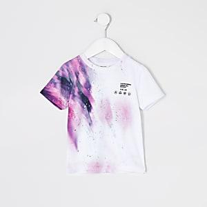 """Mini– Weißes, bedrucktes T-Shirt""""Unstoppable"""" für Jungen"""