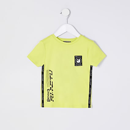 Mini boys yellow RI Active t-shirt