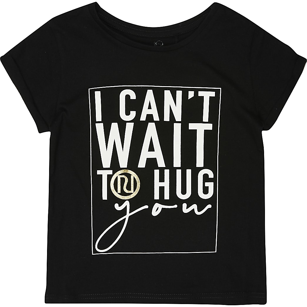 Mini Charity Tee 'I Can't Wait To Hug You'