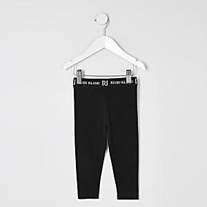 Zwarte legging voor mini girls