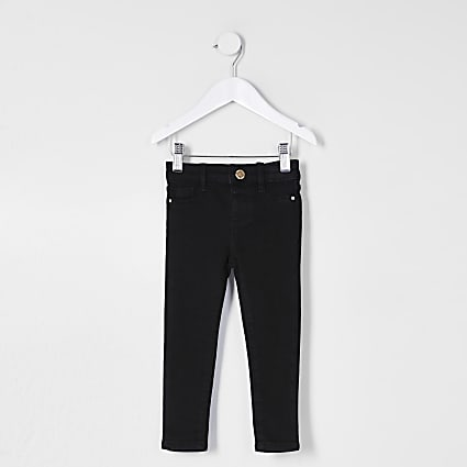 Mini girls black Molly jegging