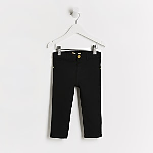 Mini girls black Molly jeggings