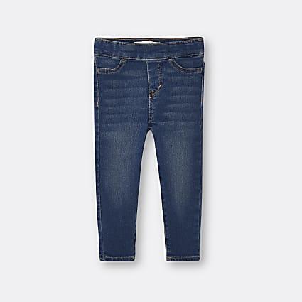 Mini girls blue Levi's leggings