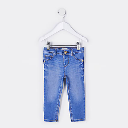 Mini girls blue Molly mid rise jegging