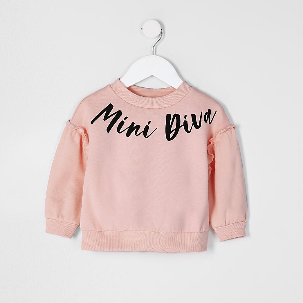 Mini girls 'Diva' sweatshirt