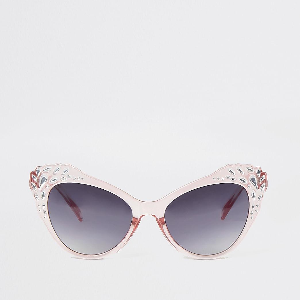 Mini - Versierde cat-eye-zonnebril voor meisjes