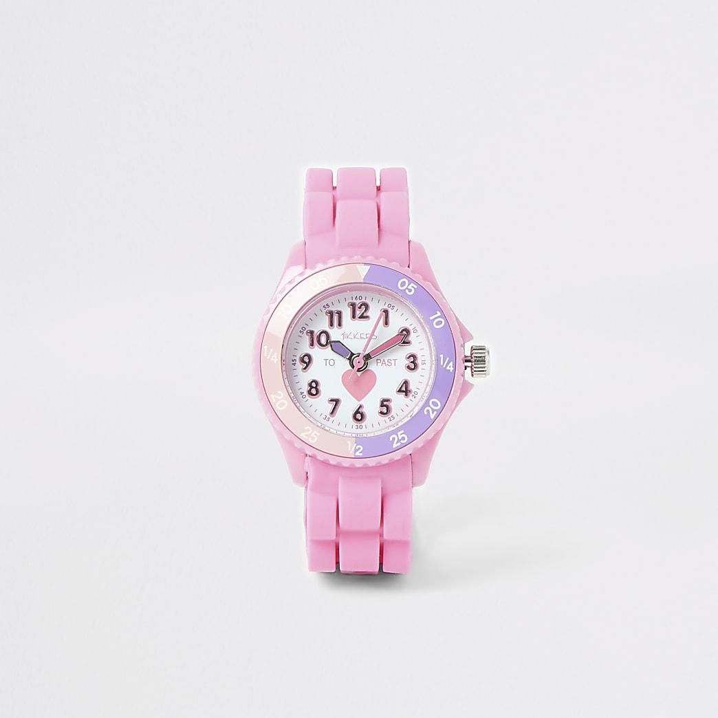 Mini - Tikkers - Roze oefenhorloge voor meisjes