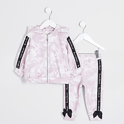 Mini girls unicorn scuba tracksuit