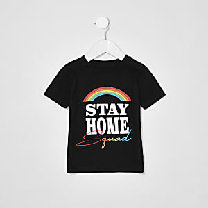 Mini Kids Charity Tee 'Stay Home Squad'