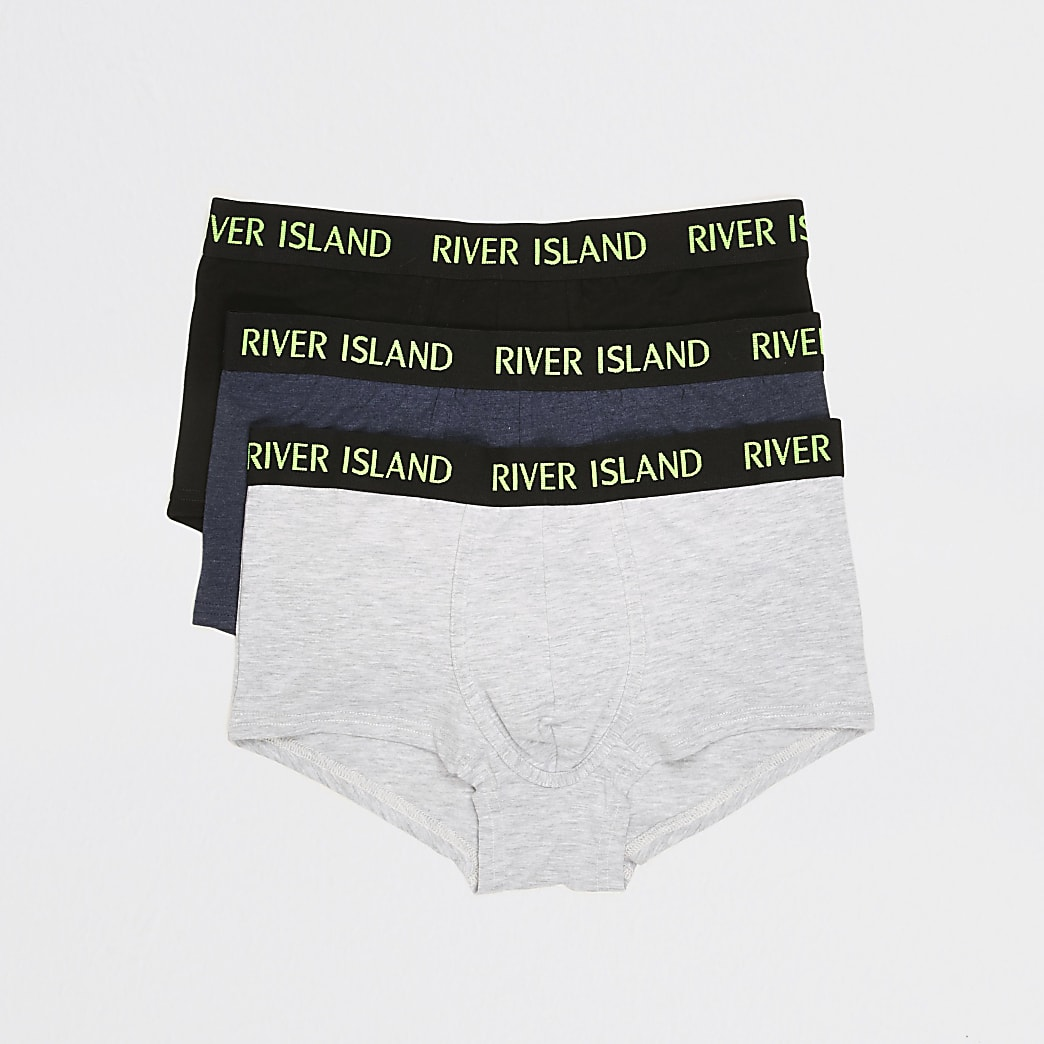 Multi coloured RI hipsters 3 pack