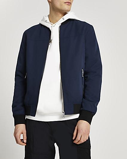 Navy bomber jacket