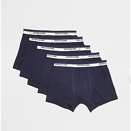 Navy boxers 5 pack