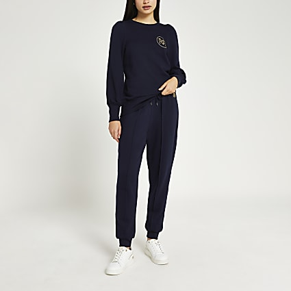 Navy long sleeve RVR sweatshirt