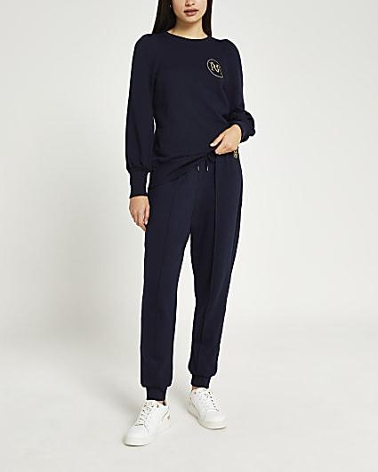 Navy long sleeve RVR sweatshirt