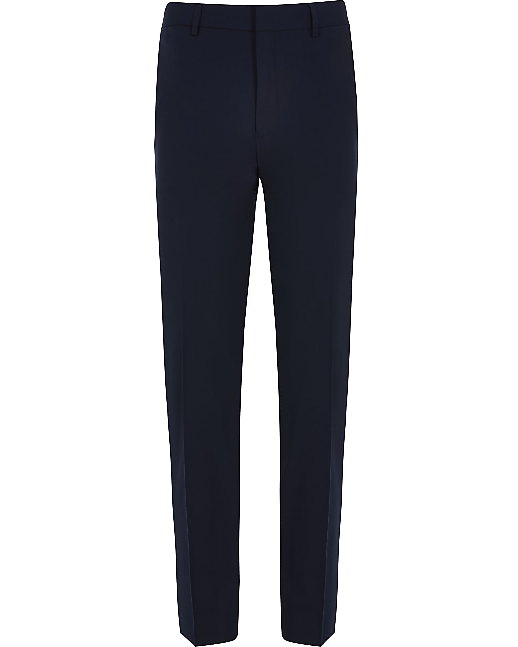 Navy skinny fit smart trousers