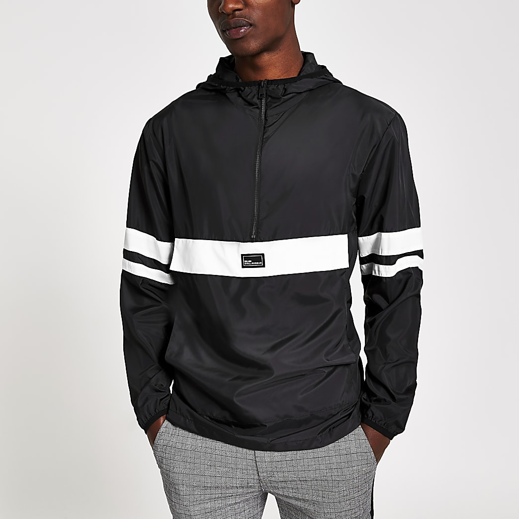 Only & Sons black block lightweight jacket
