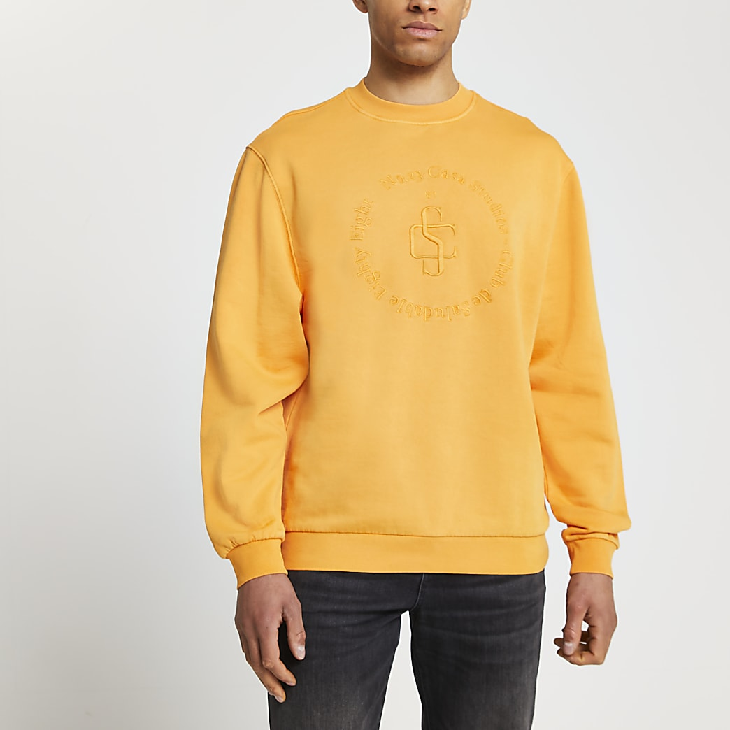 Orange 'Casa Studios' sweatshirt