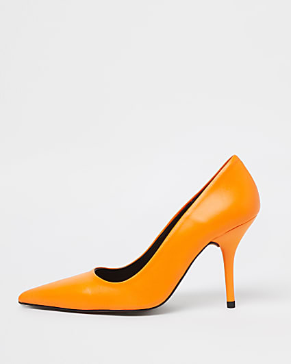 Orange court shoes
