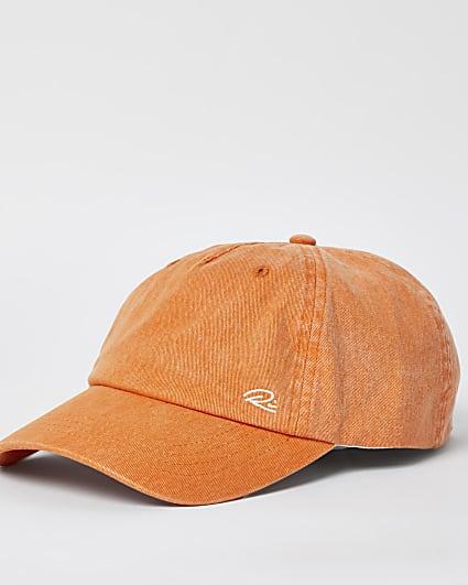 Orange RI branded cap