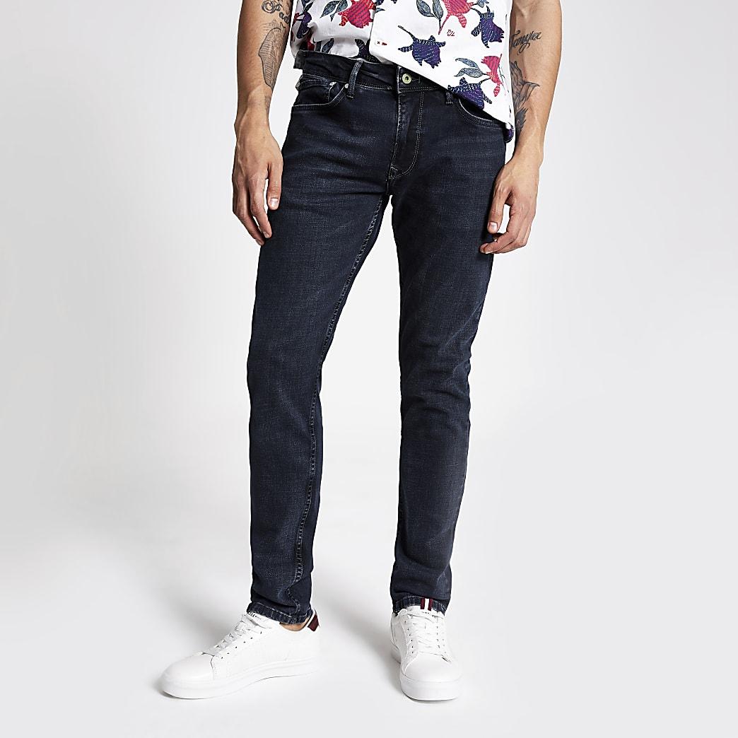 Pepe Jeans - Blauwzwarte skinny jeans