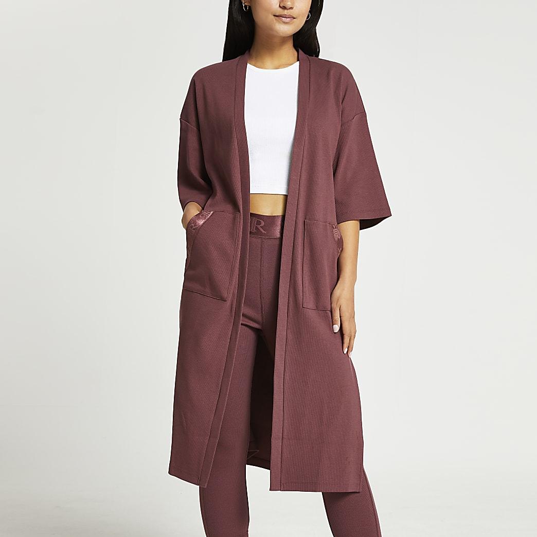 Petite short sleeve cardigan