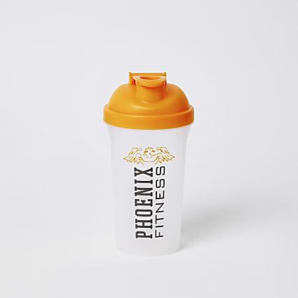 Phoenix Fitness orange protein shaker