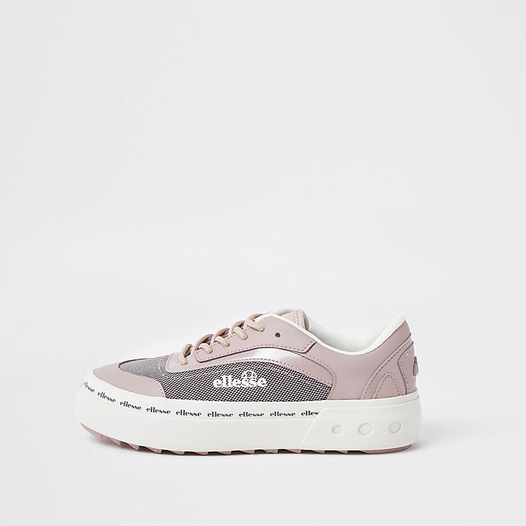 Pink Ellesse Alzina trainer