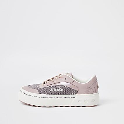 Pink Ellesse Alzina trainers