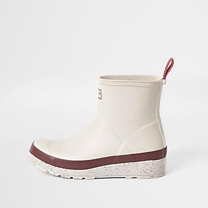 Pink Hunter short wellington boot