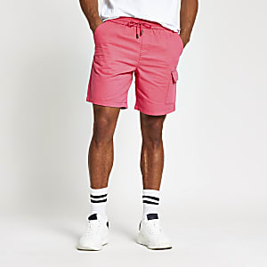 Pink Kaden box fit shorts