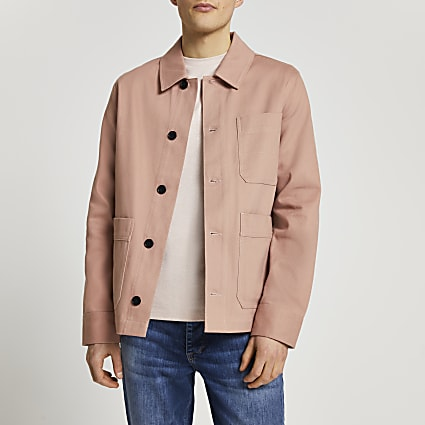 Pink long sleeve jacket