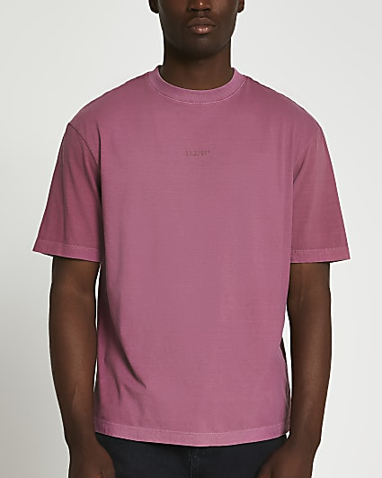 Pink oversized fit t-shirt