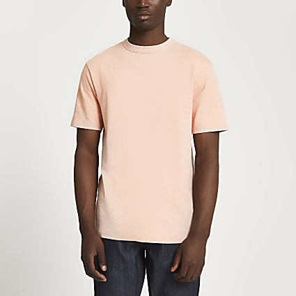 Pink premium essentials t-shirt