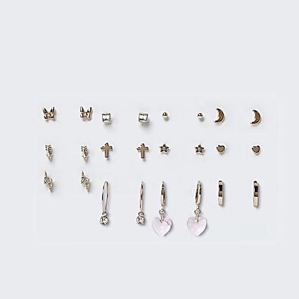 Pink Pretty Mixed Earring Multipack