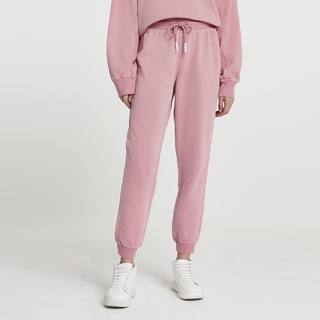 Pink RI ankle cuff jogger
