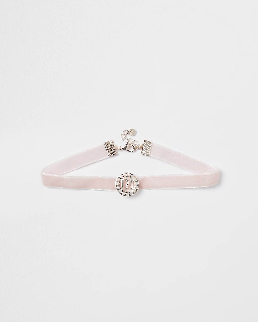 Pink RI pearl choker