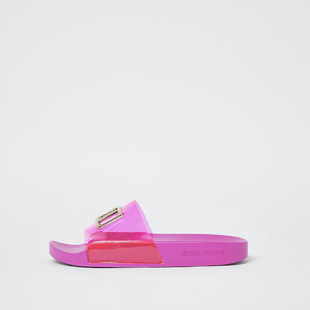 Pink RI perspex sliders