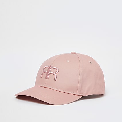 Pink RIR embroidered front cap