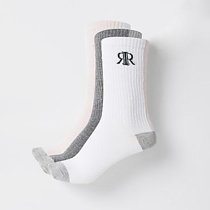 Pink RIR socks 3 pack
