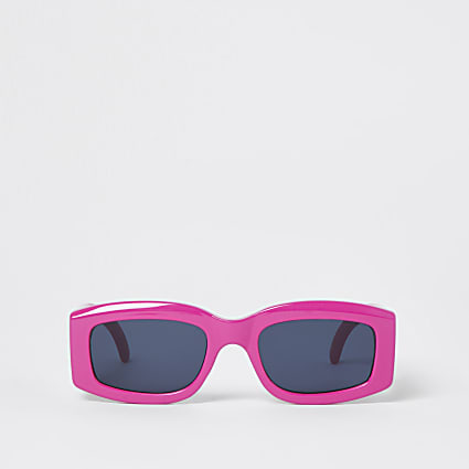 Pink RR retro sunglasses