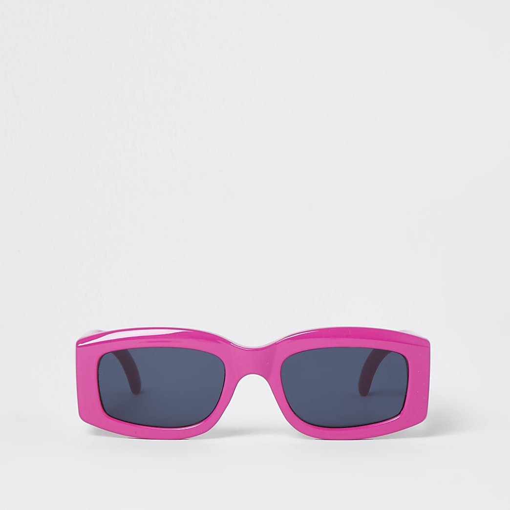 Pink RR retro sunglasses