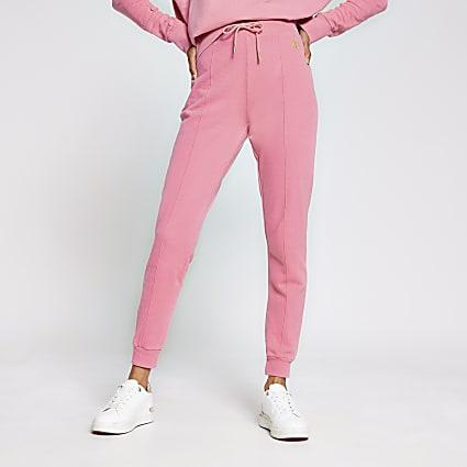 Pink seam detail jogger