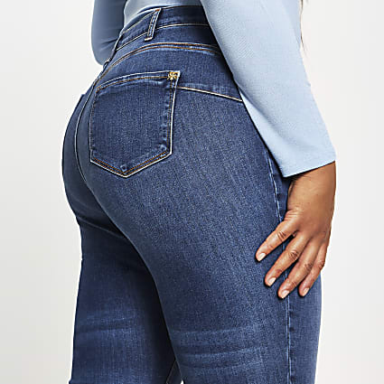 Plus Blue Molly Skinny Bum Sculpt Jean