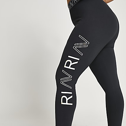 Plus grey RI Active leg print leggings