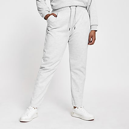 Plus grey RI peg joggers